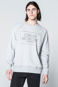 Cheap Monday Rules Thin Box Sweat Sport melange