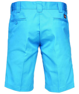 DICKIES 11 INCH SLIM STRAIGHT WORK SHORT BLUE SKY