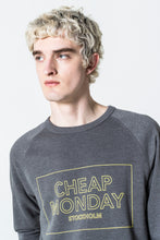 Load image into Gallery viewer, Cheap Monday Rules Thin Box Sweat Elephant Grey