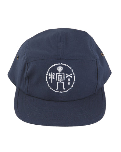James Enox Love Bones Canvas 5 Panel Cap