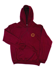 James Enox 1988 Heavy Blend™ Hooded Sweat / Maroon