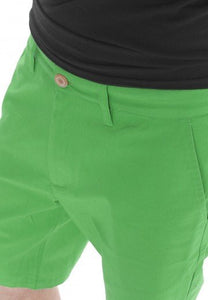 IRIEDAILY Bar Flex - Chino Shorts for Men - Green Olive