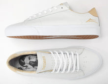 Load image into Gallery viewer, Theories x Lakai Newport Leather White/Sand Shoes