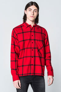 Cheap Monday Squared Flannel Check Shirt