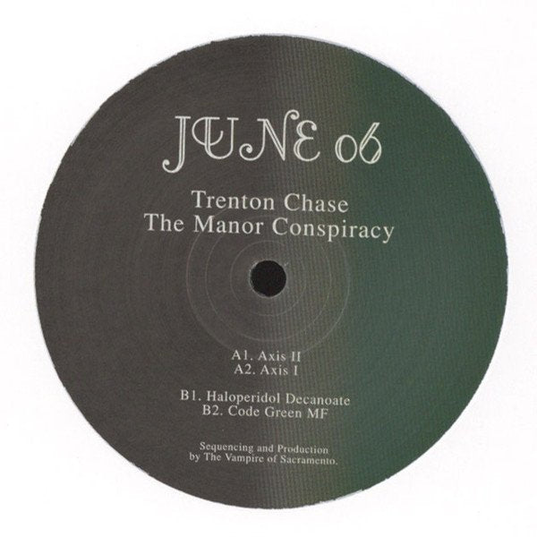 Trenton Chase ‎– The Manor Conspiracy