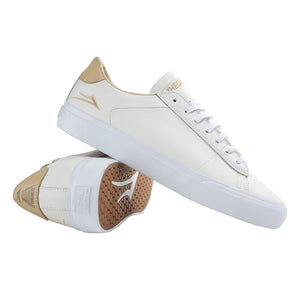 Theories x Lakai Newport Leather White/Sand Shoes