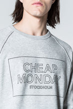 Load image into Gallery viewer, Cheap Monday Rules Thin Box Sweat Sport melange