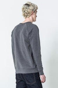 Cheap Monday Rules Thin Box Sweat Elephant Grey