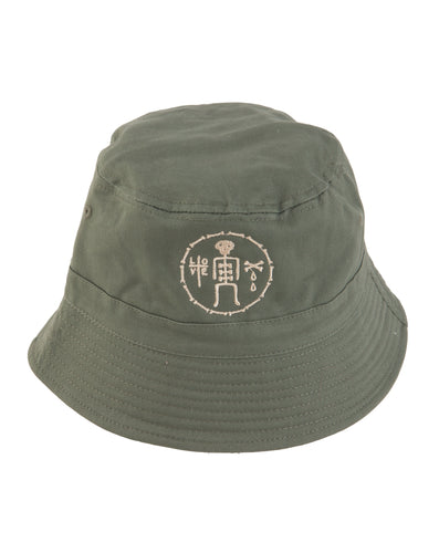 James Enox Love Bones Bucket Hat
