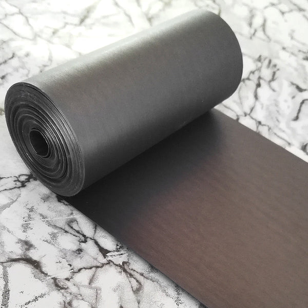 PET Sequin Film; Matte Gunmetal