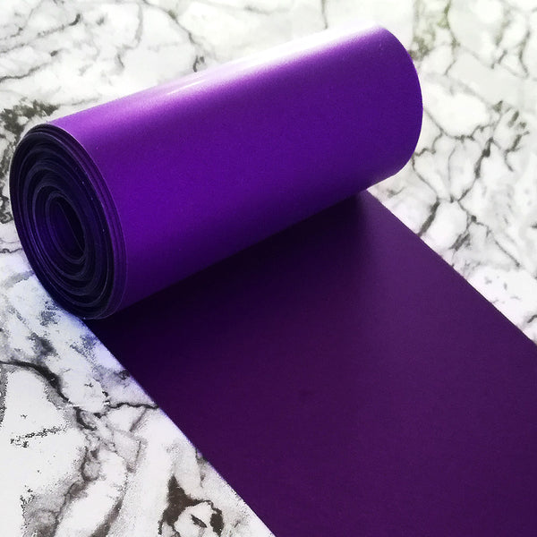 PVC Sequin Film; Matte Purple