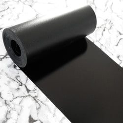 PVC Sequin Film; Matte Black