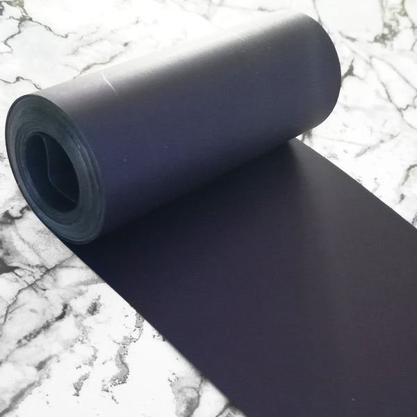 PET Sequin Film; Matte Navy Blue