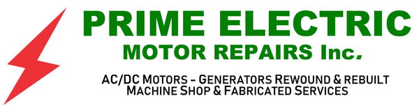 Prime Electric Motor Repairs Inc - AC/DC Motors - Generators Rewound & Rebuilt Machine Shop & Fabricated Services