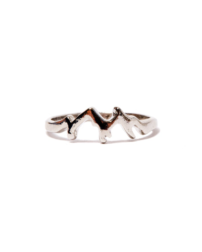 Moving Mountains Sterling Silver Ring