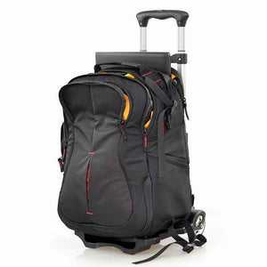 Multifunction Camera Backpack W/ Wheels