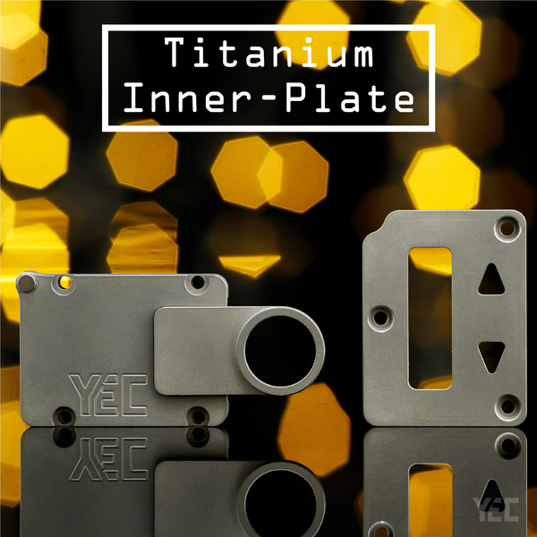 Titanium Inner, Top inner and Plate - 2nd Drop