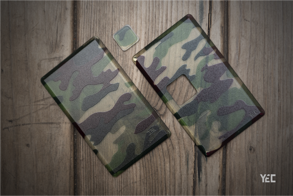 Square Panels & Buttons Camo Version (Golden Ver)