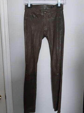 Rag & Bone Leather Pants - GUC