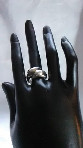 Vintage Double Dolphin Ring - Size 6.5