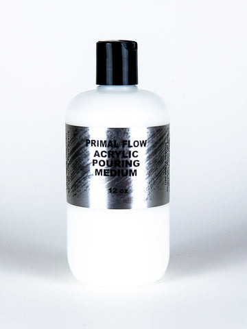 12oz Bottle - Primal Flow Acrylic Pouring Medium