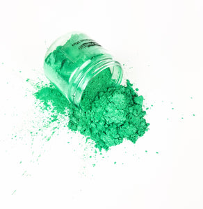 Primal Flow Mica Pigments - Emerald Green- Perfect for Resin Artwork