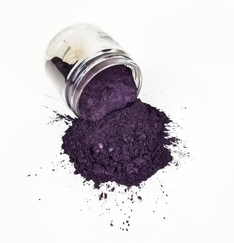 Primal Flow Mica Pigments - Ripe Plum - Perfect for Resin Artwork
