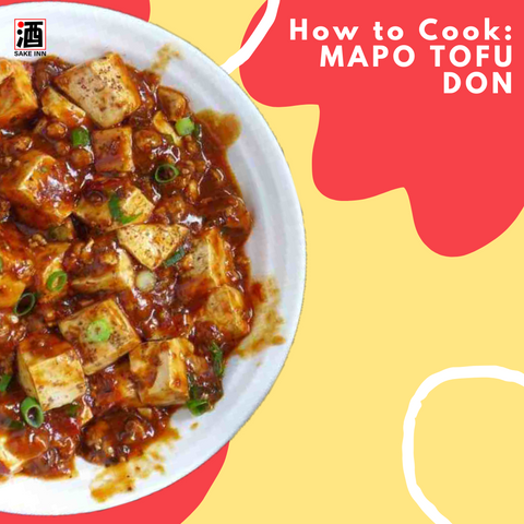 Sake Inn How to Cook Mapo Tofu Don