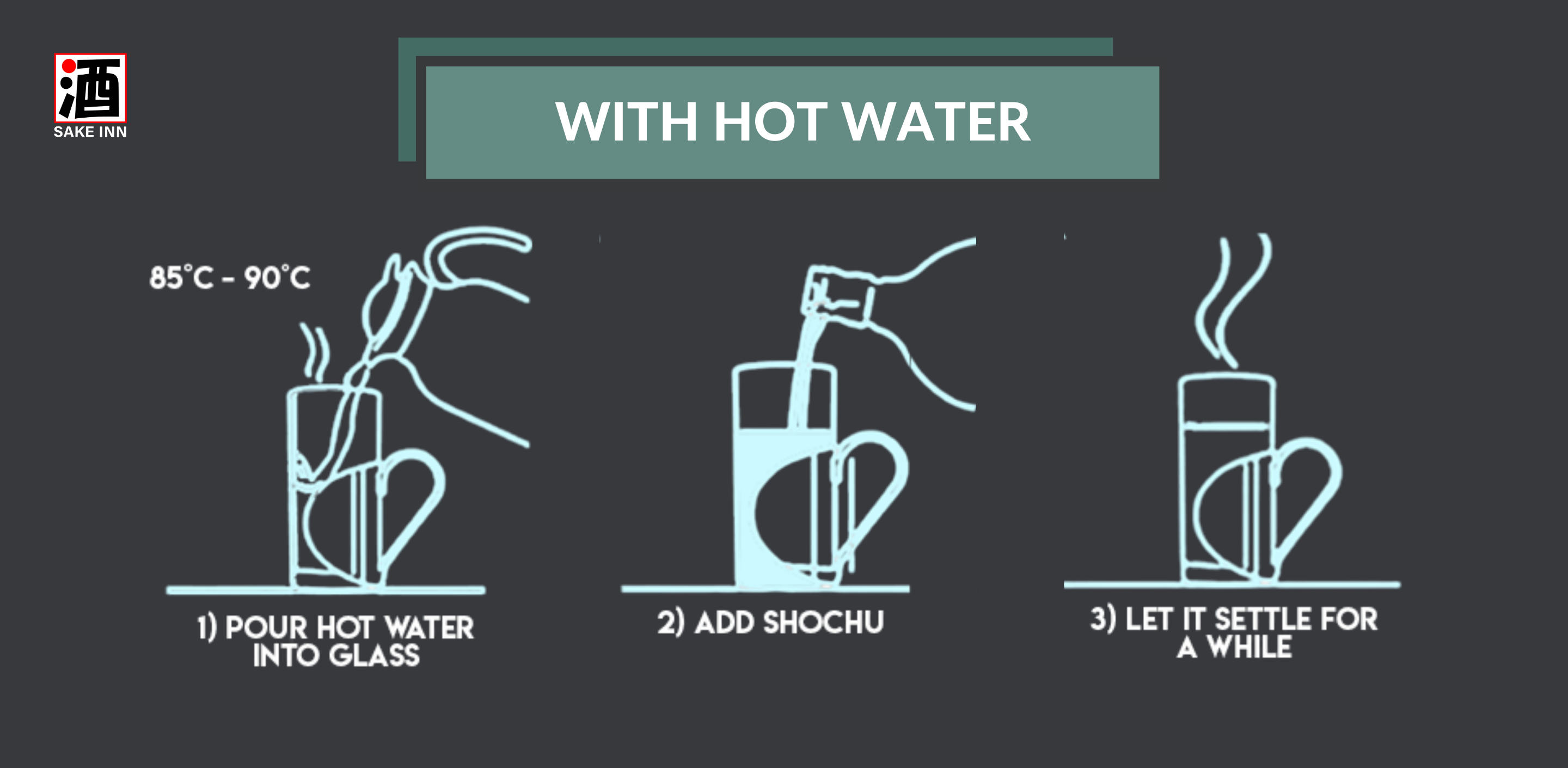Sake Inn Japanese Shochu Beginner's Guide | Ways to drink shochu - with hot water