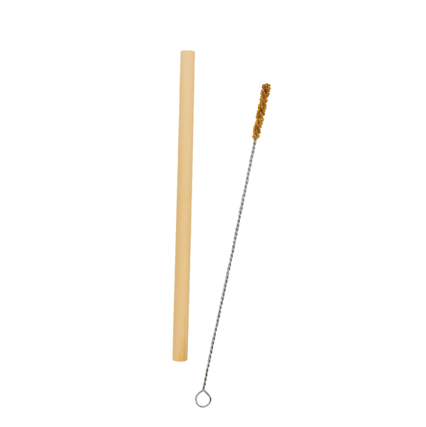 Refuse single use. This Bamboo Straw will prevent approximately 540 conventional plastic straws from being thrown into a landfill. Clean it in the dishwasher or with our Coconut Fiber Straw Cleaner. Shipped and packaged 100% plastic free. Shop now at rplanetshop.com.