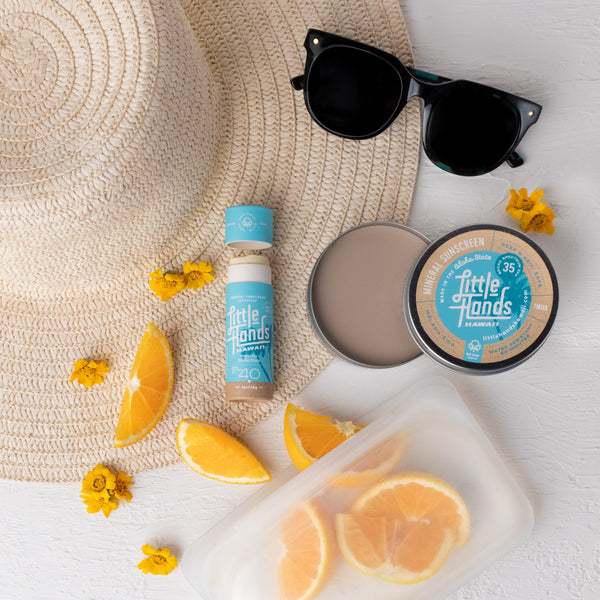 Reef Safe Sunscreen Tin