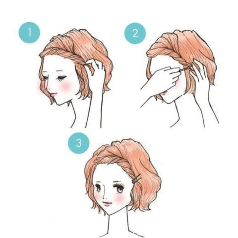 kawaii hairstyles