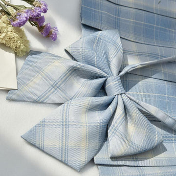Modakawa ACC. Bowknot A / One Size Sweet School Plaid Bowknot Tie Shirt Accessories
