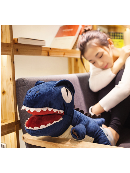 Modakawa Accessories Blue Plush Dinosaur Soft Toy Gift