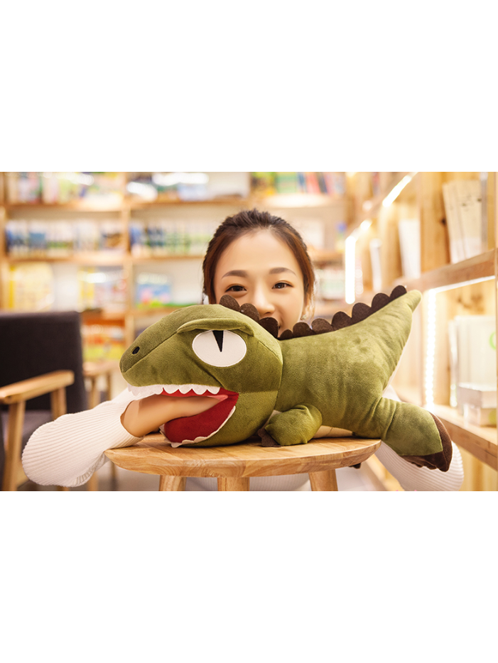 Modakawa Accessories Green Plush Dinosaur Soft Toy Gift