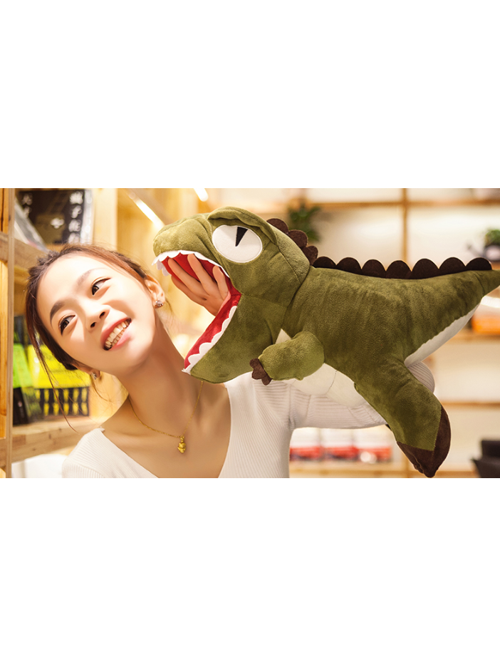 Modakawa Accessories Green Plush Gift Dinosaur Soft Toy
