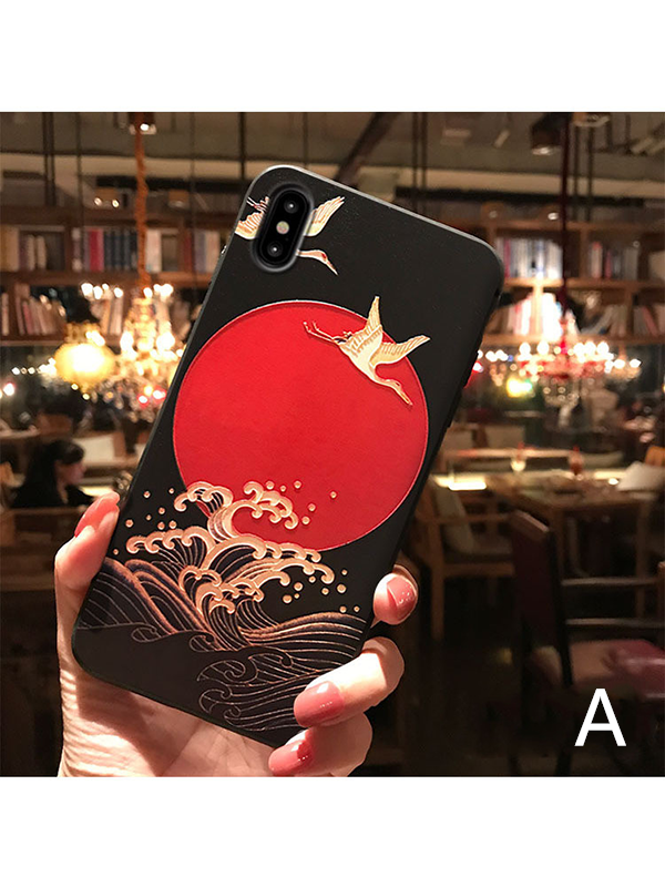 Modakawa Accessories iPhone6/6s / A Japanese Crane Phone Case