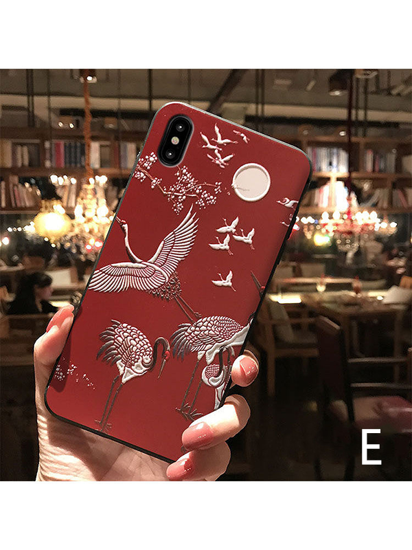 Modakawa Accessories iPhone6/6s / E Japanese Crane Phone Case