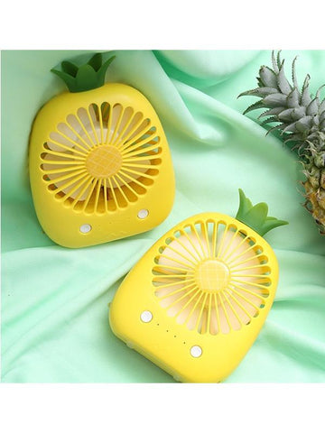 Modakawa Accessories Pineapple Mini Handheld Fan
