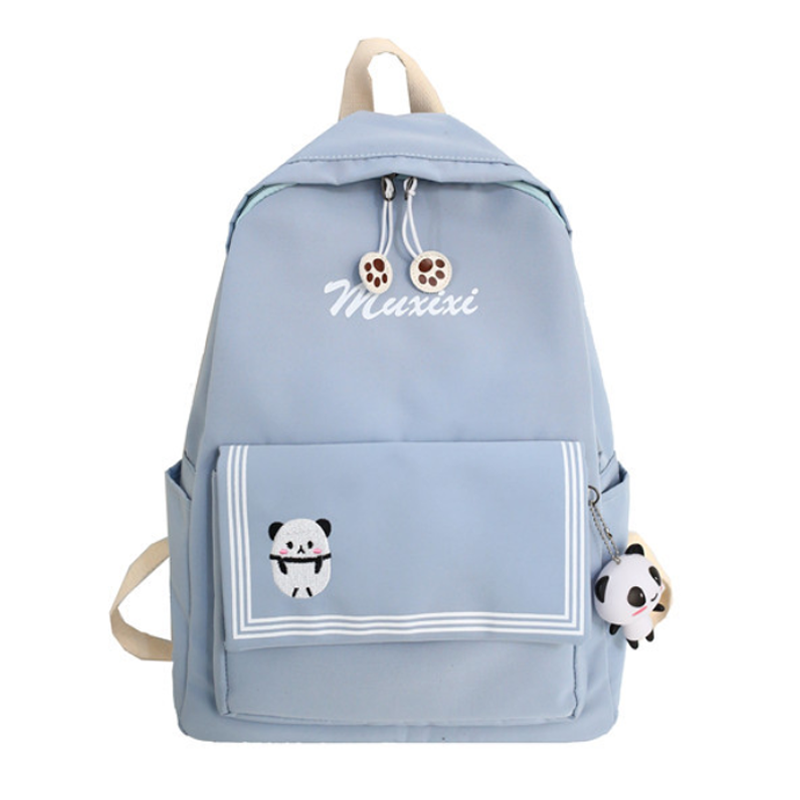 Modakawa Backpack Blue / One Size Candy Color Animal Travel Student Backpack