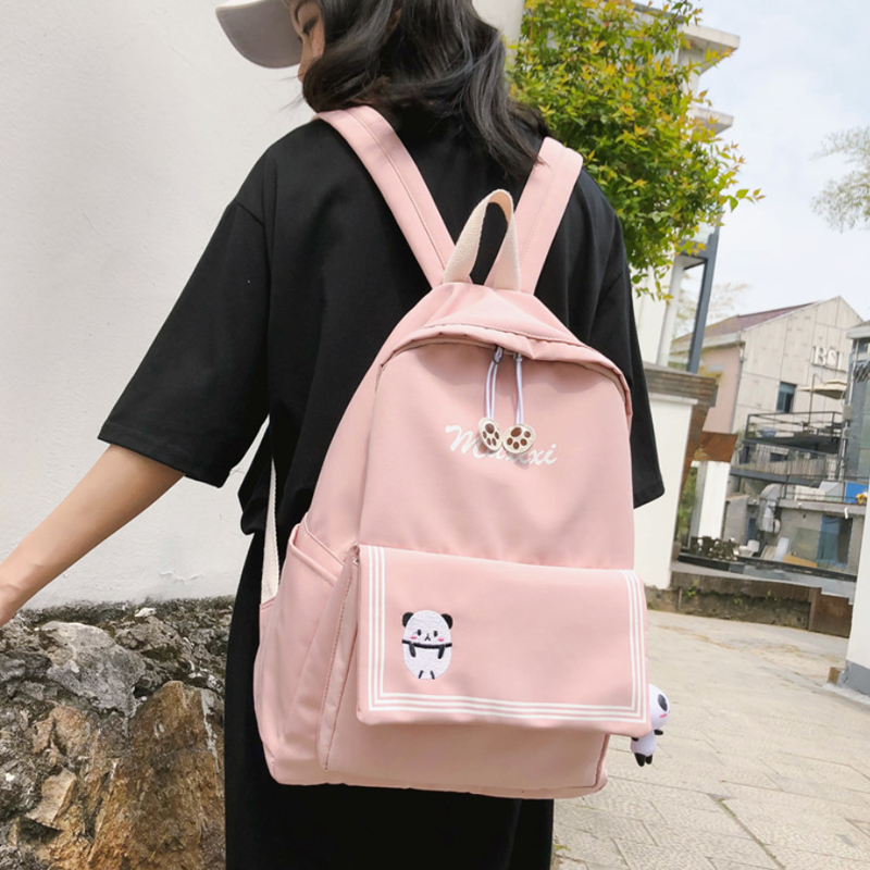 Modakawa Backpack Candy Color Animal Travel Student Backpack