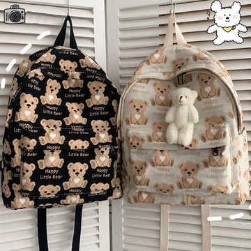 Modakawa Backpack HAPPY LITTLE BEAR Backpack