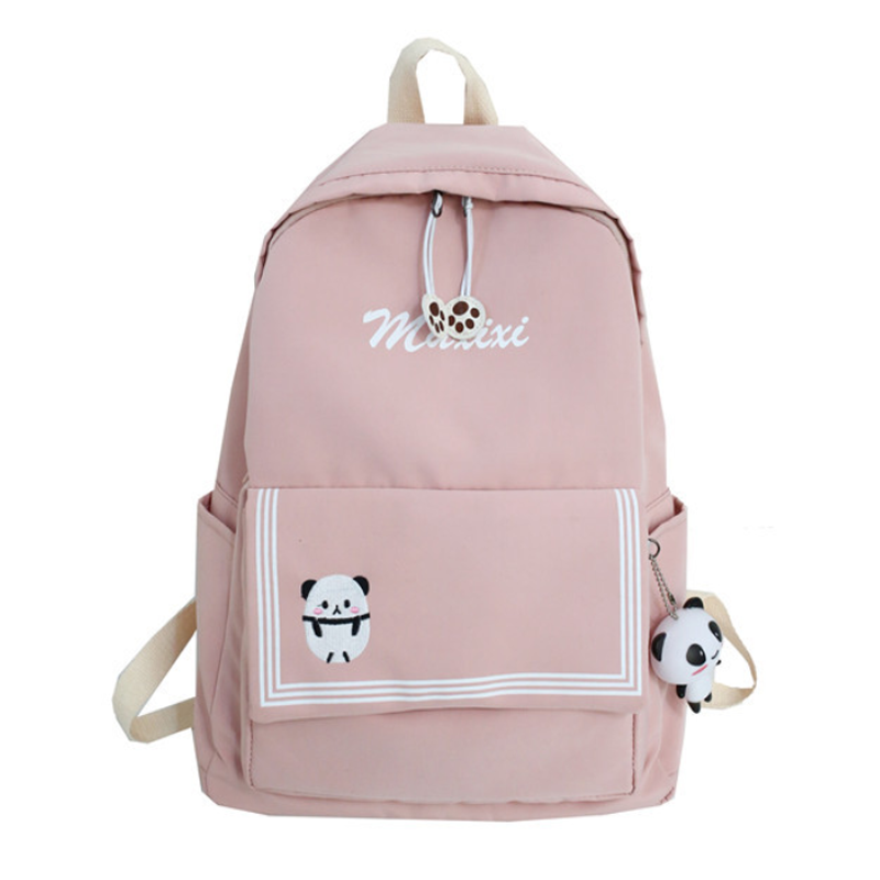 Modakawa Backpack Pink / One Size Candy Color Animal Travel Student Backpack