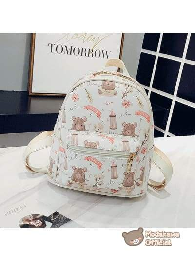 Modakawa Bag Bear Ice Cream Small Backpack