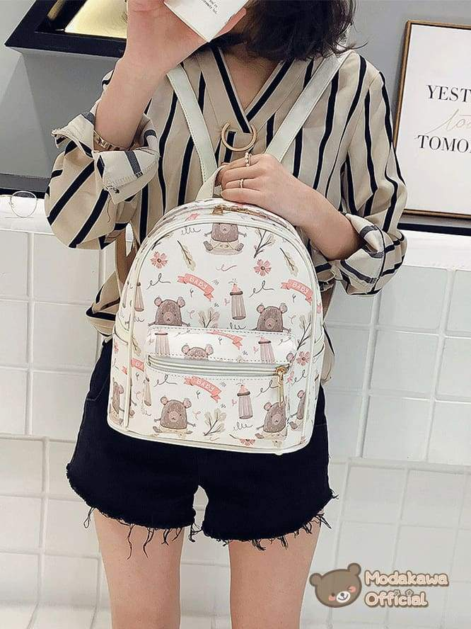 Modakawa Bag Ice Cream Small Backpack