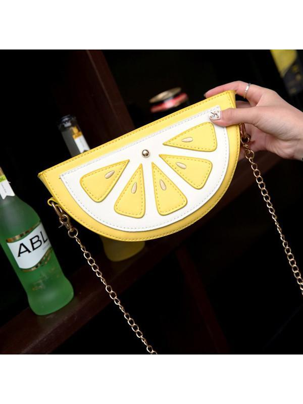 Modakawa Bag Lemon Watermelon Lemon Crossbody Bag