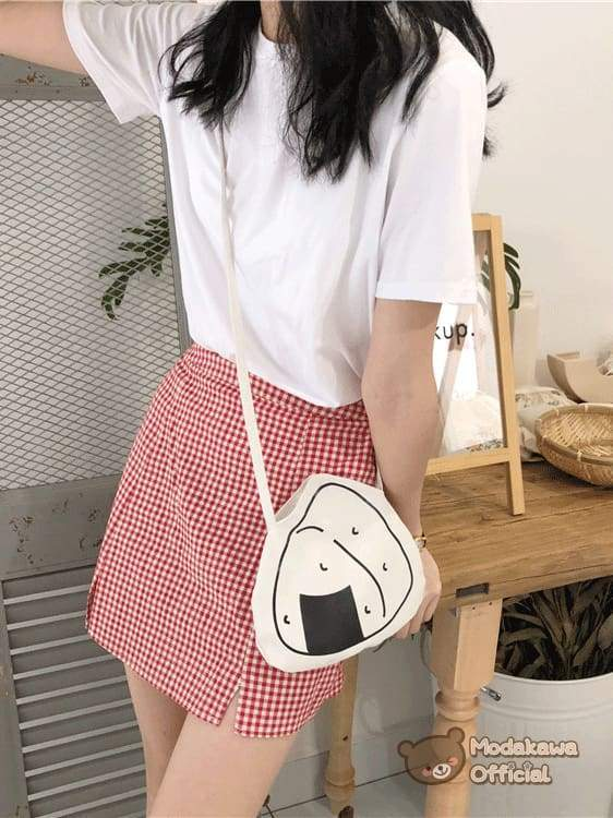 Modakawa Bag Onigiri Sushi Crossbody Mini Bag