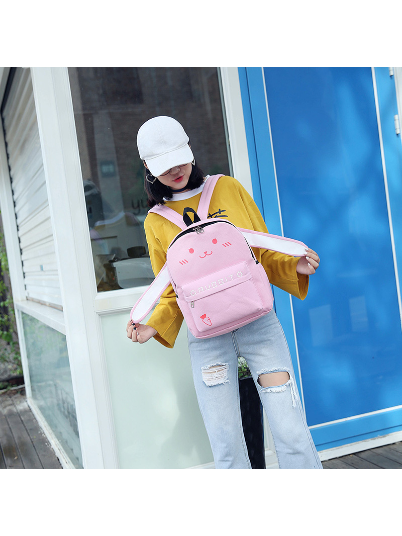 Modakawa Bag Pink Japanese Kawaii Animal Backpack