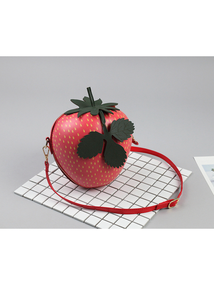 Modakawa Bag Strawberry Crossbody Bag