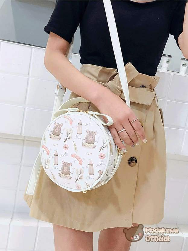 Modakawa - cosplay store - Bag - Swan Round Crossbody Bag